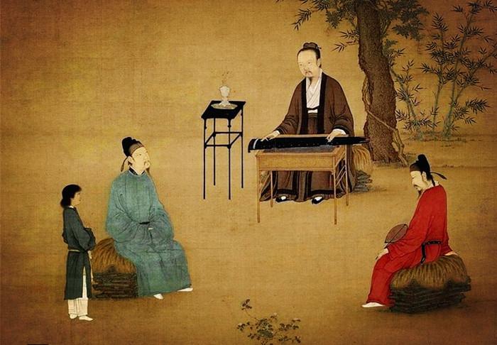 6-宋徽宗-听琴图-song-huizong